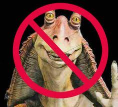 Removing Jar Jar Binks is an obvious first move in improving Episodes I & II (except where necessary)