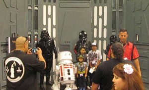 501st Legion display at Wondercon 2014