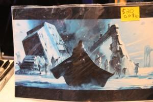 Livio Ramondelli's rendering of Darth Vader leading invasion on Hoth