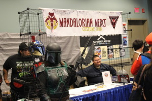 Mandalorian Mercs were definitely representing at Long Beach Comic Expo yesterday