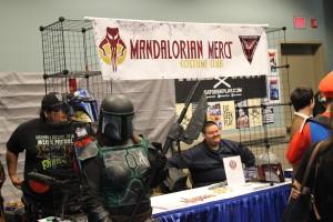 Mandalorian Mercs were definitely representing at Long Beach Comic Expo yesterday