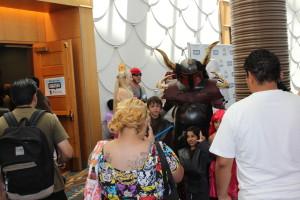 Mandalorian costume with horns