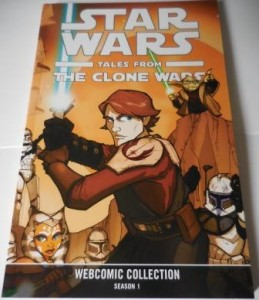 """Star Wars Tales from The Clone Wars - Webcomic Collection Season 1"" Cover"