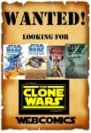 In Search of Star Wars The Clone Wars Webcomics