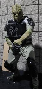 Darth Traggisk cosplay