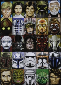 Star Wars portraits by Terry Huddleston