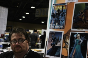 Tom Hodges at Long Beach Comic Con 2014