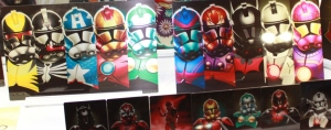 Superheroes and Clone Troopers by Jon Bolerjack