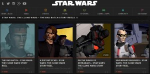 The Bad Batch story reels were released online today at StarWars.com