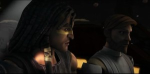 "Quinlan Vos telling Obi-Wan Kenobi: ""Ziro was here"""