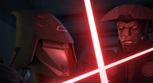 The Seventh Sister fends off the Fifth Brother from killing Ezra