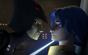 The Seventh Sister speaking with Ezra