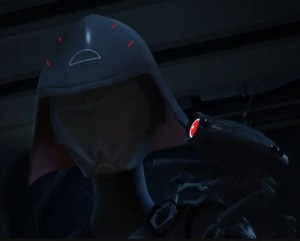 The first on-screen appearance of the Seventh Sister