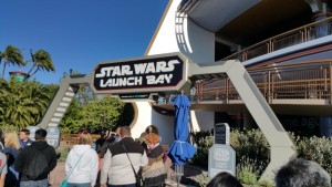 Star Wars Launch Bay is on the first floor of the Innoventions building