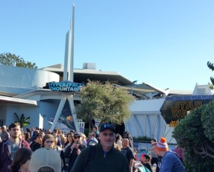 Disneyland has Hyperspace Mountain