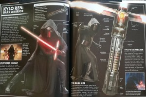 Kylo Ren's lightsaber is an ancient design