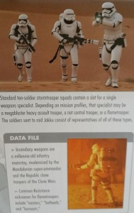 Stormtrooper squads have specialists