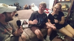 Podcasting with the hosts of Skywalking Through Neverland