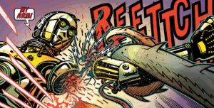 C-3PO's arm gets torn off in the new comic