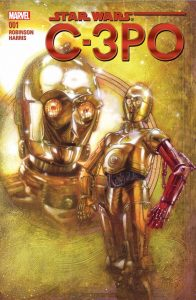 The new C-3PO comic which came out this month