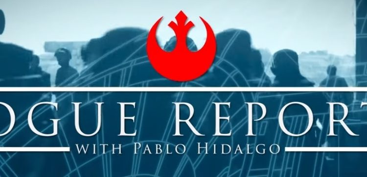 Rogue Reports with Pablo Hidalgo