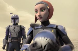 Bo-Katan Kryze appears in the first episode of season 4 of Star Wars Rebels