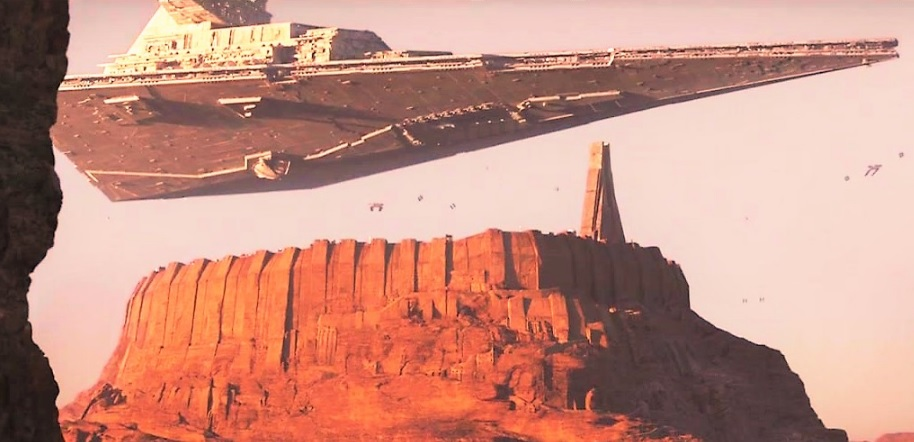 What type of system would be best to supress large uprisings and patroll large teritorries? Imperial-Star-Destroyer-hovering-over-Jedha-in-Rogue-One