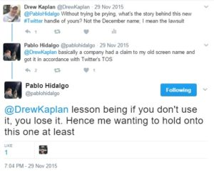 How Pablo Hidalgo lost his twitter account