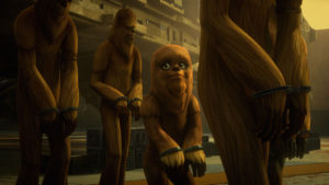 Wookiees enslaved on Kessel in Spark of Rebellion