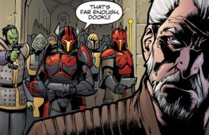 Count Dooku is captured