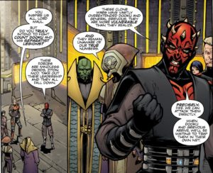 Maul feels confident about luring Dooku to Ord Mantell to fight