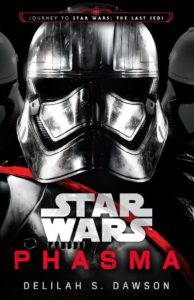 Phasma's acquisition of her special First Order armor is detailed in the Phasma novel