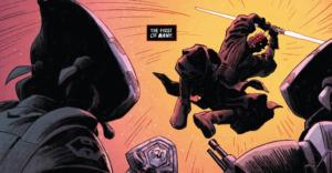 Darth Maul killing Pykes