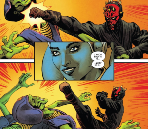Eldra Kaitis figures out what Maul is