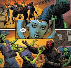 Eldra Kaitis recognizes Maul using the Force