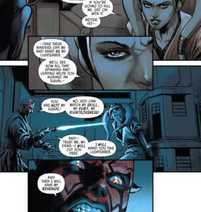 Eldra Kaitis tells Maul they should fight