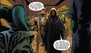 Maul and bounty hunters surprise Zygerrians