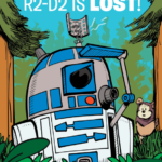 C-3P0 & R2-D2 Return to the Forest Moon of Endor Along with BB-8 in R2-D2 is Lost!