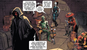 bounty hunters not having the funds to purchase the padawan at auction