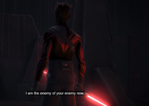 "Maul: ""I am the enemy of your enemy now"""